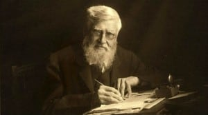 Portrait of Alfred Russel Wallace .
