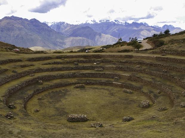 Moray Ruins in Peru.