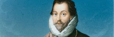 Painting of Sir Francis Drake.