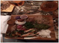 Large food platter