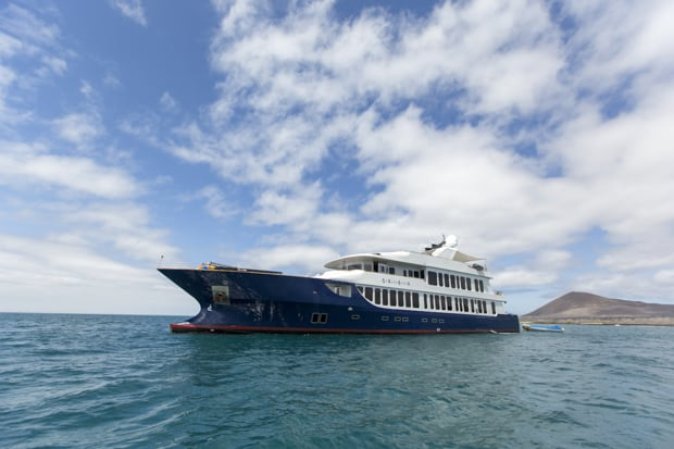 Small ship Galapagos cruise aboard luxury Origin.
