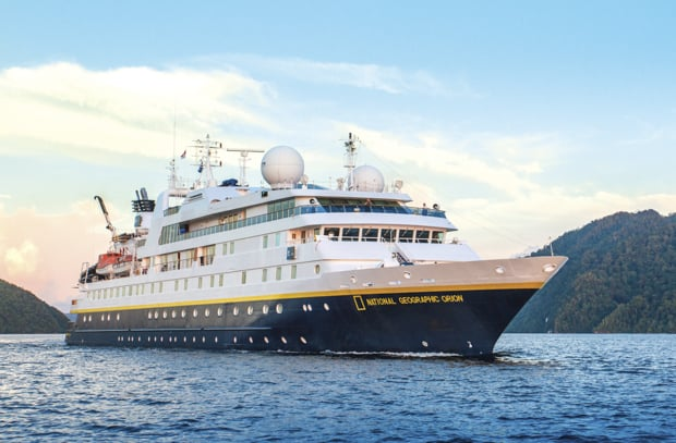 Small ship expedition cruise in Antarctica aboard National Geographic Orion.
