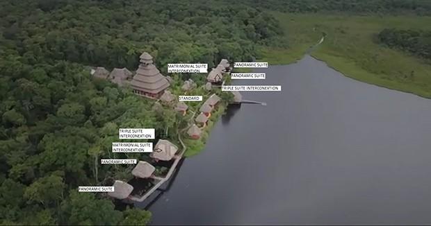 Napo Wildlife Center Deck Plan