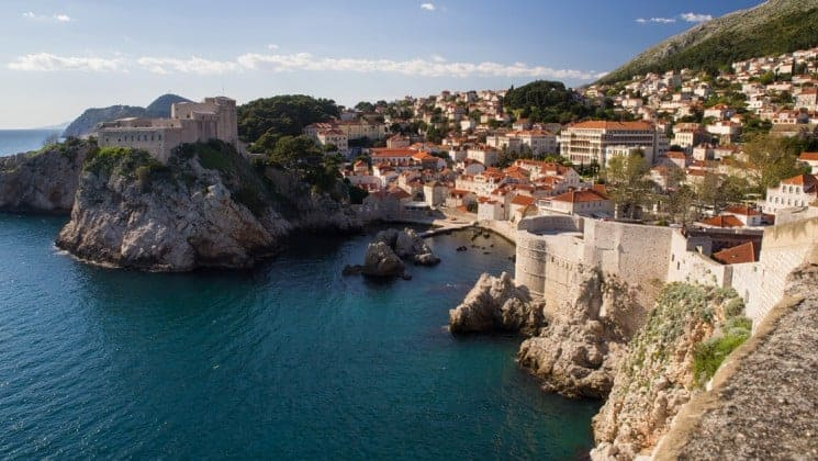 Croatia Romantic small ship cruise visits Dubrovnik.