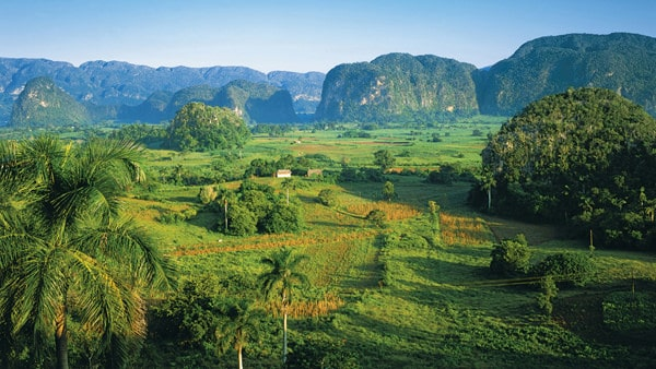 vista from a Cuban land tour